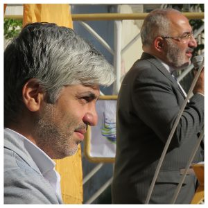 جناب آقای توحیدی مدیریت دبیرستان سلام صادقیه
