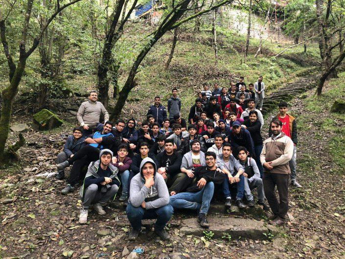 اردوی رامسر پایه دهم دبیرستان دوره دوم سلام صادقیه (7)