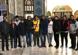 اردوی مشهد مقدس پایه یازدهم دبیرستان سلام صادقیه