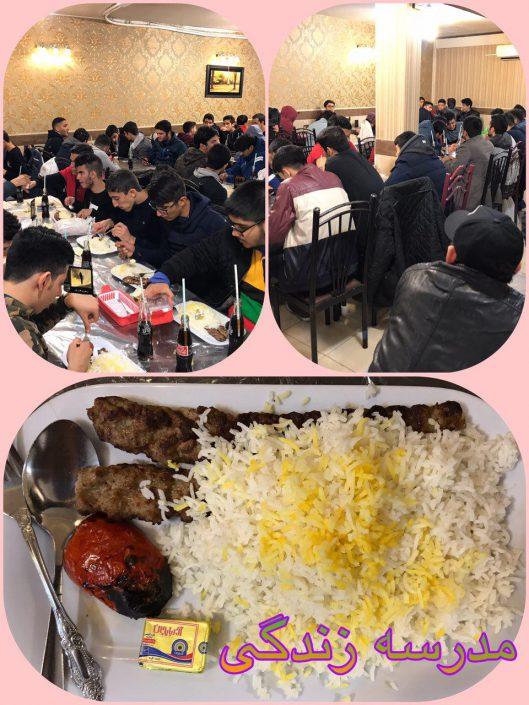 اردوی مشهد پایه یازدهم دبیرستان سلام صادقیه (1)