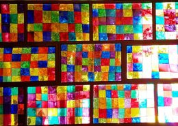 انجمن هنر دبیرستان سلام صادقیه - ویترای پنجره نهایی