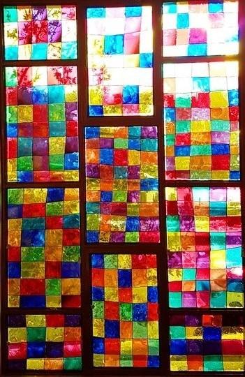 انجمن هنر دبیرستان سلام صادقیه - ویترای پنجره نهایی2