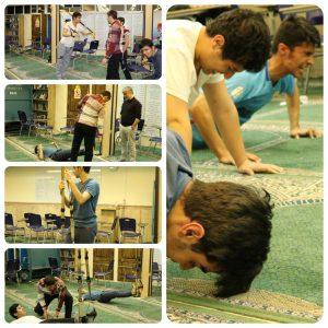 انجمن ورزش دبیرستان سلام صادقیه - ورزش TRX2