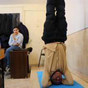کلاسهای یوگا پایه یازدهم دبیرستان سلام صادقیه (2)