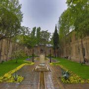 تصویر زیبا از باغ موزه نگارستان